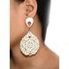 Corona Extravaganza Wood Earrings-1-sm