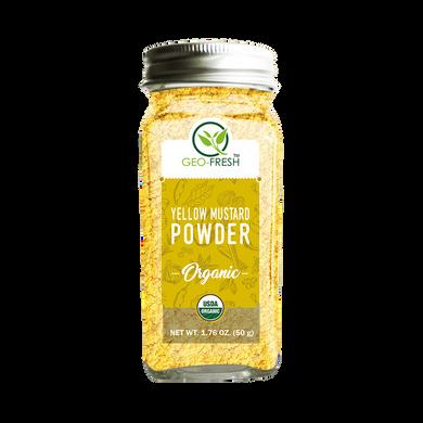 GF OragnIc Yellow Mustard Powder-EO719