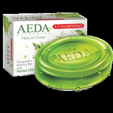 KPN AEDA HERBAL SKIN CARE SOAP NATURAL GREEN-EO910