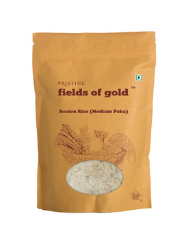 pristine beaten rice medium