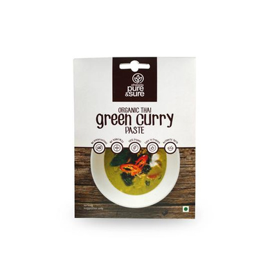 PS GREEN CURRY PASTE-EO1581