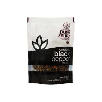 PS Organic Black Pepper Whole-EO1612