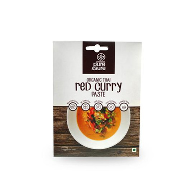 PS Organic Red Curry Paste-EO1667
