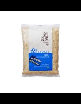 PS Organic Semi Polished Rice