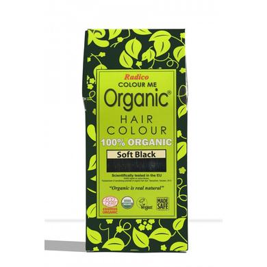 Radico Organic Hair Colour soft Black-EO1742
