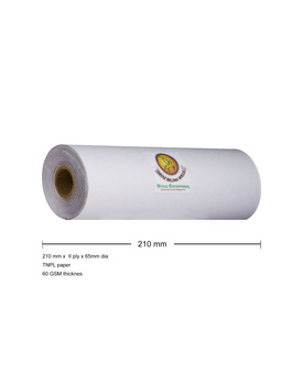 PAPER ROLL 8 INCH / 210MM WITH CARBON COPY