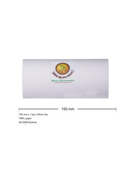 PAPER ROLL  6 INCH / 150mm x 1 ply x 65mm DIA