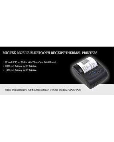 Rugtek  Bluetooth  2inch Thermal Printers-3004