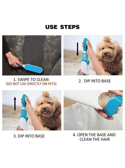 Double-Sided Self-Cleaning and Reusable Lint Remover Pet Hair Dust for Clothing and Furniture-2
