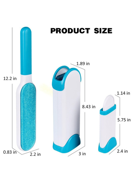 Double-Sided Self-Cleaning and Reusable Lint Remover Pet Hair Dust for Clothing and Furniture-3