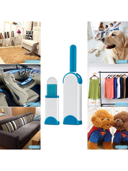 Double-Sided Self-Cleaning and Reusable Lint Remover Pet Hair Dust for Clothing and Furniture-5