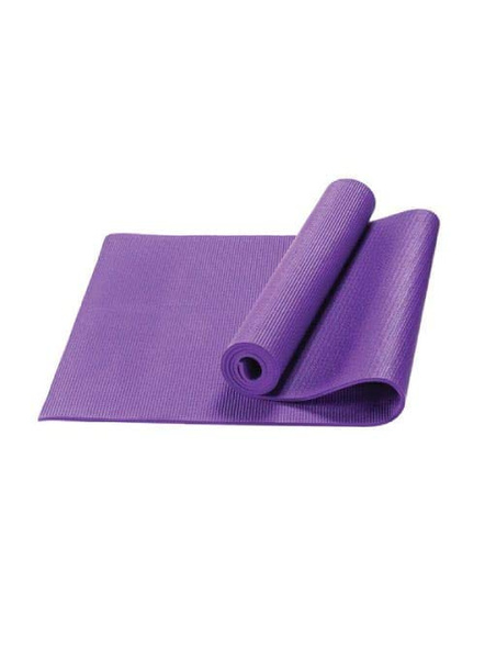 4mm High Density Yoga Mat for Yoga Exercise and Gym Workout for Men & Women Fitness [Multicolor]-G65