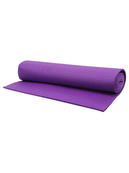 4mm High Density Yoga Mat for Yoga Exercise and Gym Workout for Men & Women Fitness [Multicolor]-5