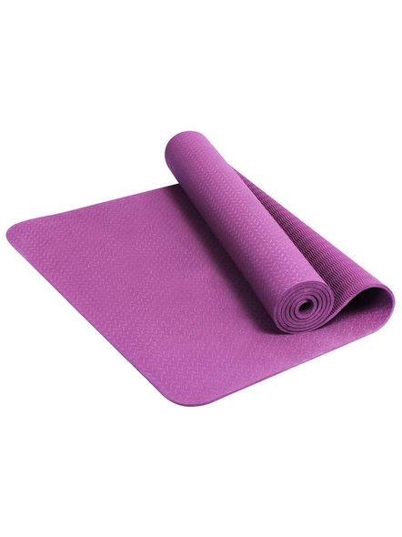 6mm High Density Yoga Mat for Yoga Exercise and Gym Workout for Men & Women Fitness [Multicolor]-G64
