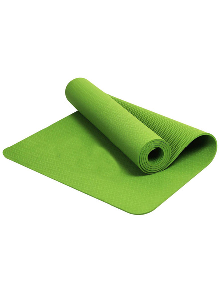 6mm High Density Yoga Mat for Yoga Exercise and Gym Workout for Men & Women Fitness [Multicolor]-4