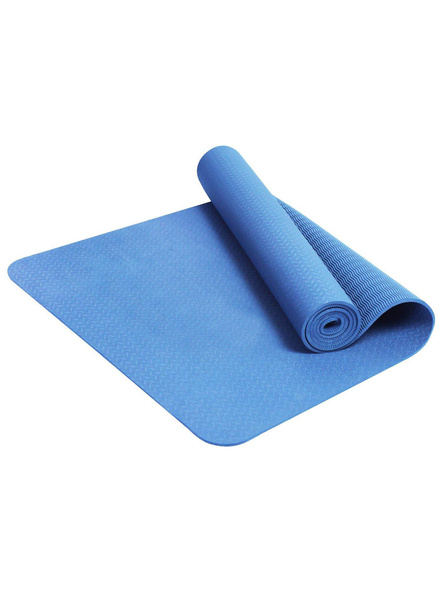 6mm High Density Yoga Mat for Yoga Exercise and Gym Workout for Men & Women Fitness [Multicolor]-5