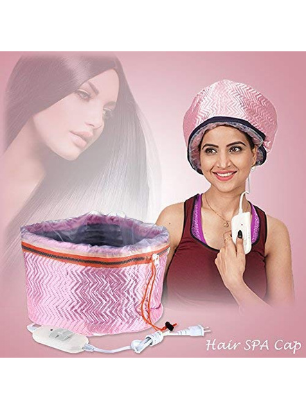 Hair Care SPA Cap Beauty Steamer Hair Thermal Treatment Nourishing Hat-1