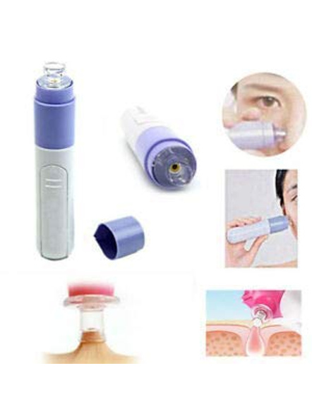 Blackhead Whitehead Extractor Remover Device Acne Pimple Pore Cleaner Vacuum Suction Tool With Interchangeable Suction Head For Men And Women-G99