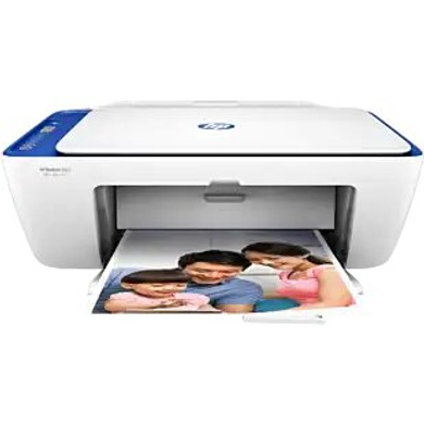 HP Deskjet 2621 All-in-One Wireless Colour Inkjet Printer (White) with Voice-Activated Printing (Works with Alexa and Google Assistant)-Y5H68D