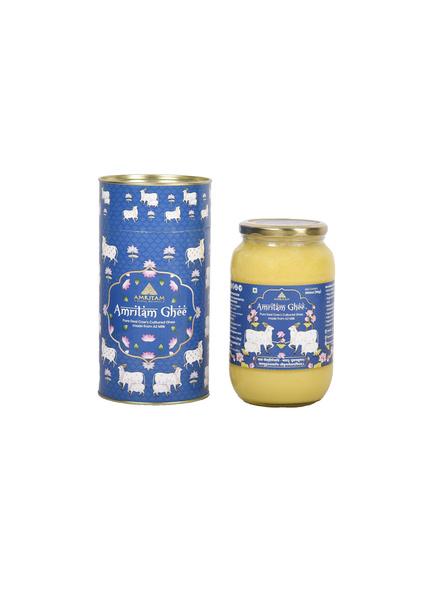 Amritam Ghee 1 litre-Blue-5