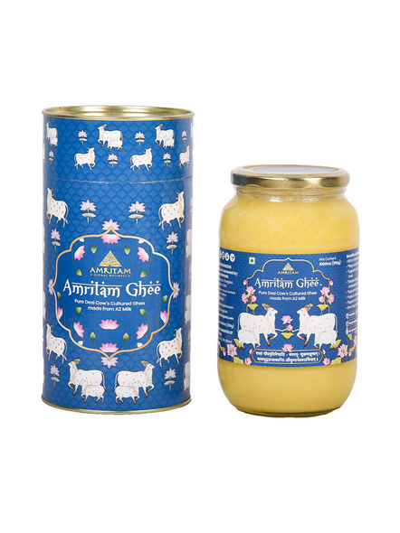 Amritam Ghee 1 litre-AM-1000-1_Blue