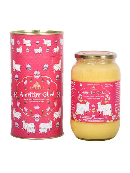 Amritam Ghee 1 litre-AM-1000-1_Pink