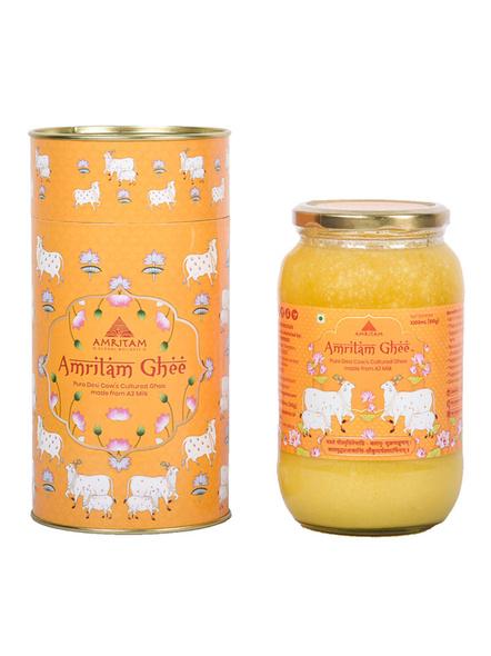 Amritam Ghee 1 litre-AM-1000-1_Orange