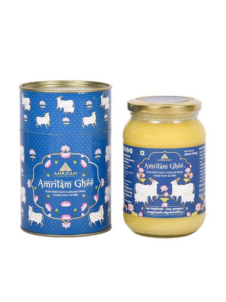 Amritam Ghee 500 ml-AM-500-1-Blue