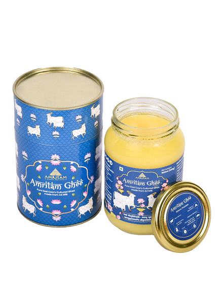 Amritam Ghee 500 ml-Blue-1