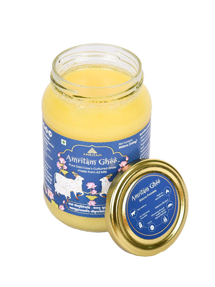 Amritam Ghee 500 ml-Blue-3