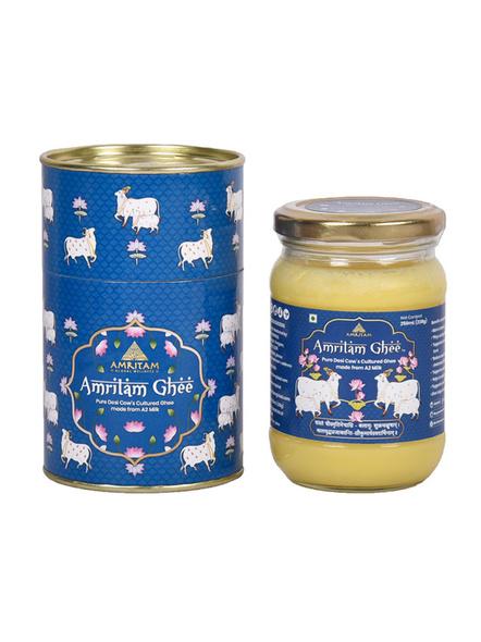 Amritam Ghee 250 ml-AM-250-1-Blue
