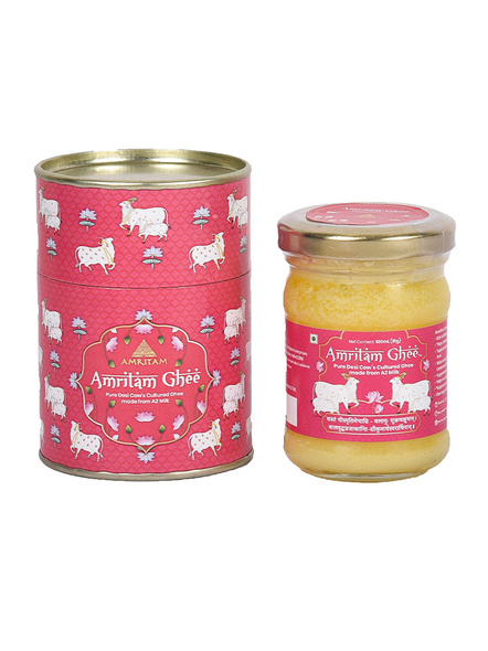 Amritam Ghee 100 ml-AGH001-Pink