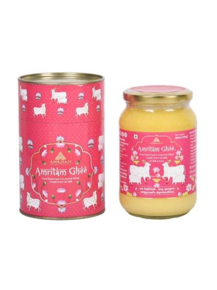 Amritam A2 Gir Cows Ghee - 500 ml-852