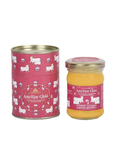 Amritam A2 Gir Cow Ghee 100 ml-AGH001-Pink