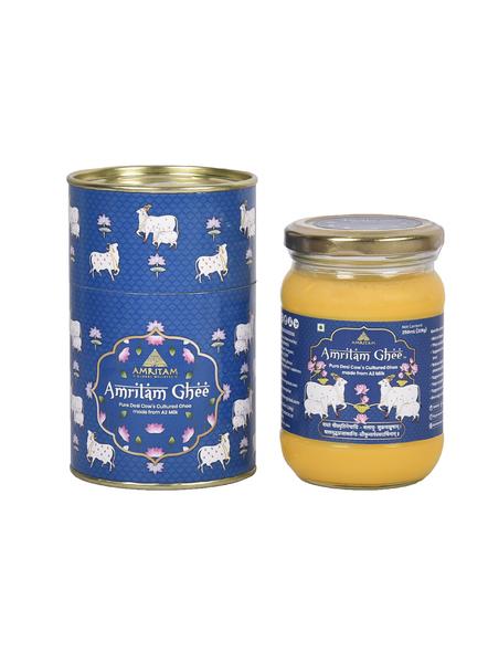 Amritam A2 Ghee 250 ml-AM-250-1-Blue