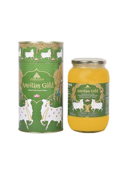 Amritam Gold Herbal Ghee- 500 ml-60