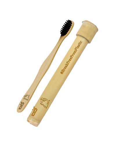 Bamboo Toothbrush + Bamboo Toothbrush Case-BTIBC