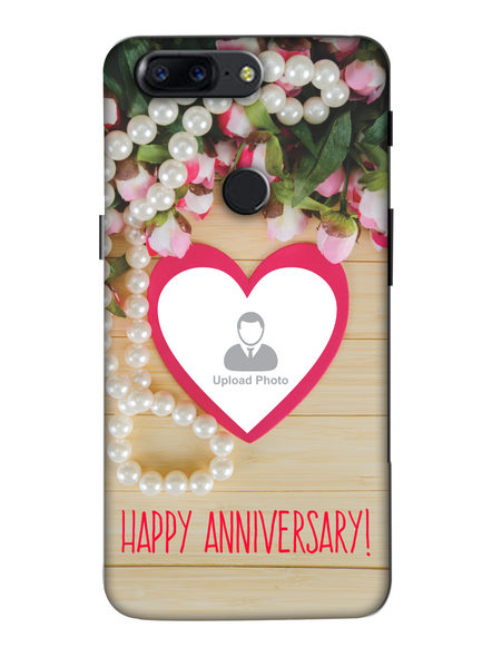 3D Happy Anniversary Personalized Mobile Back Cover for OnePlus-OnePlus-5T-Ann0011