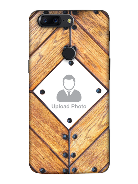 3D Beautiful Wooden Theme Personalized Mobile Back Cover for Oneplus-OnePlus-5T-Cus0038