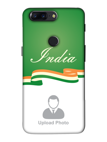 3D India Theme Customised Mobile Back Cover for Oneplus-OnePlus-5T-Cus01116