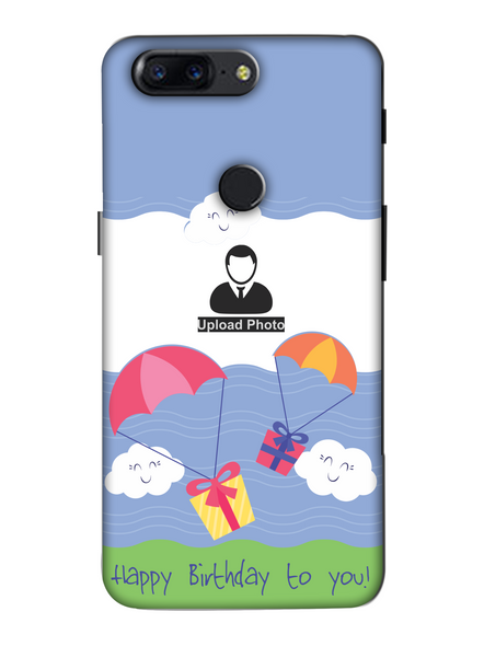 3D Gifting Umbrella Customised Back Cover for Oneplus-OnePlus-5T-hbd00219