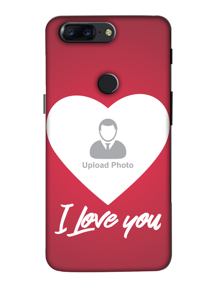 3D I Love You Customised Mobile Back Cover for Oneplus-OnePlus-5T-lOVE00128