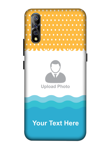3D Sun and Sea Water Animated Printed Mobile Back Cover for Vivo-VIVO-S1-Cus00548