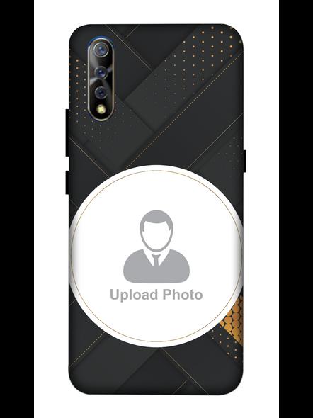 3D Elegent Looking Customised Mobile Back Cover for Vivo-VIVO-S1-Cus00649
