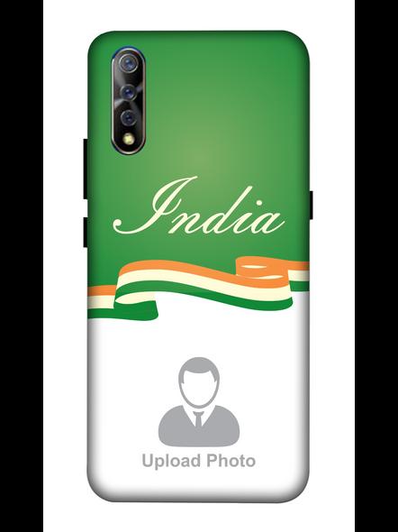 3D India Theme Customised Mobile Back Cover for Vivo-VIVO-S1-Cus01154