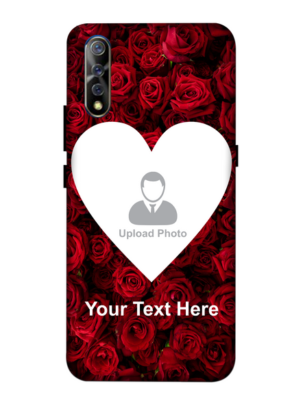 3D Beautiful Roses background Personalized Mobile Back Cover forVivo-VIVO-S1-love00671