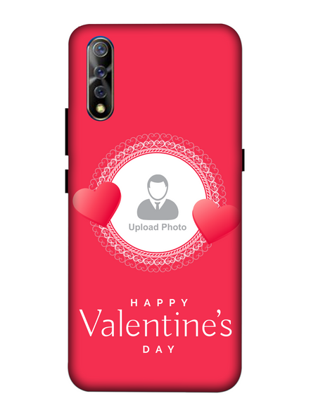 3D Beautiful Hearts Boundry Valentine's Day Printed Back Cover for Vivo-VIVO-S1-PERVAnn00273
