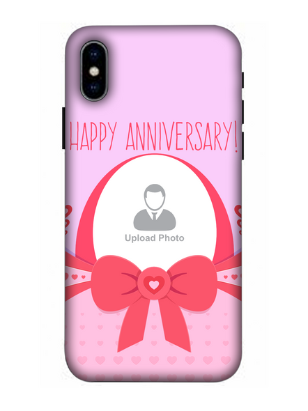 3D Happy Anniversary Elegent Personalized Mobile Back Cover for Apple iPhone-Apple-iPhone-X-0379