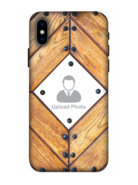 3D Beautiful Wooden Theme Personalized Mobile Back Cover for Apple iPhone-Apple-iPhone-X-0384