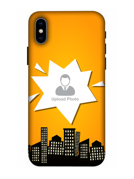 3D Buildings View Customised Mobile Back Cover for Apple iPhone-Apple-iPhone-X-0788